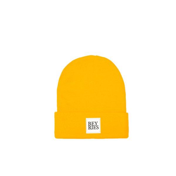 Beanie yellow